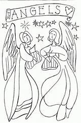 Angel Coloring Pages Wings Print Printable Angels Colouring Inspiring Guardian Pdf Cool Nativity Letscoloringpages Cute Children Christmas Adults Sheets Bible sketch template