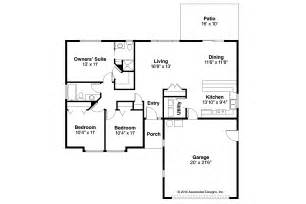 ranch floor plan ranch house plans halsey 30 847 associated designs