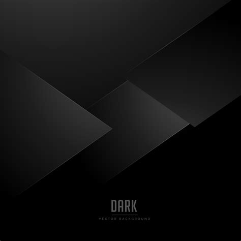 Abstract Minimal Shapes by Minimal Black Background With Abstract Shapes
