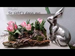 Bärbels Wohn Und Deko Ideen : fr hlings osterdeko tulpen in baumrinde b rbel s wohn deko ideen youtube ~ Orissabook.com Haus und Dekorationen