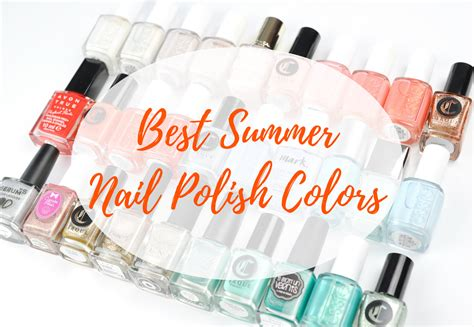 Best Summer Nail Polish Colors
