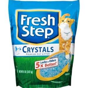 walmart cat litter fresh step crystals cat litter 8 pounds walmart