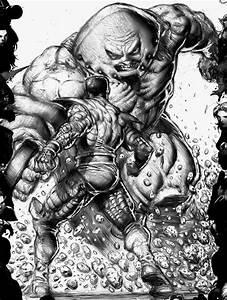 Colossus vs Juggernaut by Danny Cruz | Comic Artwork ...