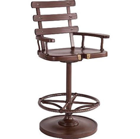 Thomasville Furniture Bar Stools Marlin Swivel Bar Stool From The Ernest Hemingway