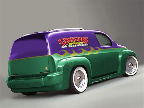 Hhr Custom Panel Wagon This Features A 5500 Paint Job