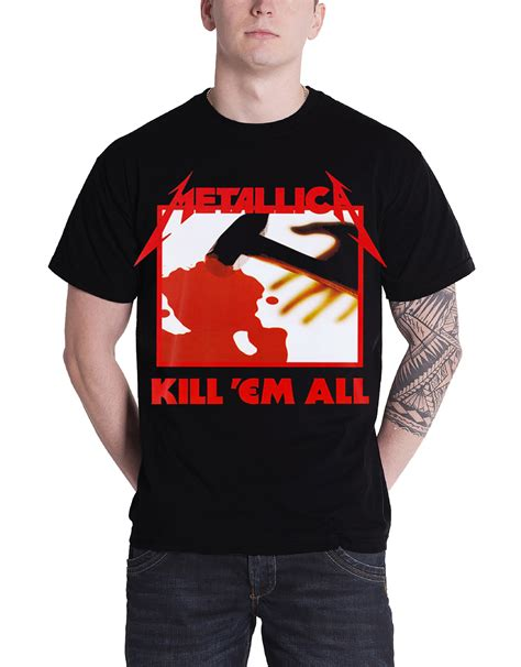 metallica t shirt hardwired justice for all rtl band logo