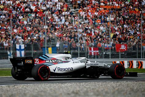 Williams F1 - Italian GP: Qualifying Times