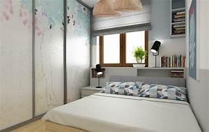 Begehbarer Kleiderschrank Kleines Schlafzimmer : kleines schlafzimmer einrichten 25 ideen f r raumplanung ~ Michelbontemps.com Haus und Dekorationen