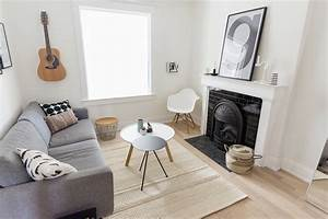 Living, Room, Update, Cozy, Scandinavian