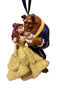 disney christmas ornament beauty and the beast belle beast