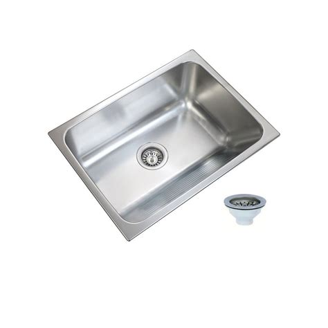 kitchen sink sizes 24 x 18 ukinox 24 in x 18 in single bowl stainless steel laundry