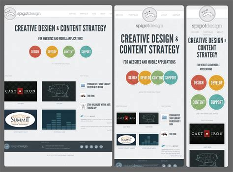responsive web design exles cs110 usability and responsive web design