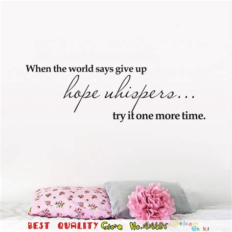 time inspiration quote words wall stickers