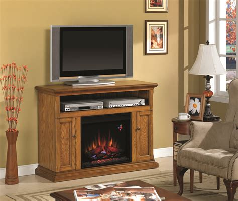 fireplace entertainment centers 47 25 cannes antique oak entertainment center electric