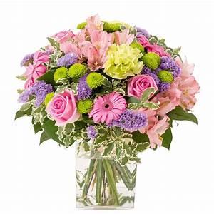 Bouquet De Fleurs Interflora : bouquet gerbera et alstroemeria bouquet d licat rose vif interflora ~ Melissatoandfro.com Idées de Décoration
