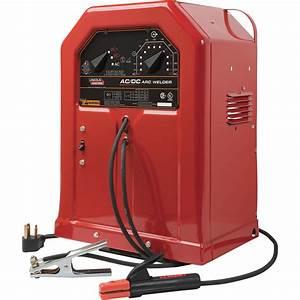 Lincoln Electric Ac  Dc 225  125 Stick Welder  U2014 230 Volts