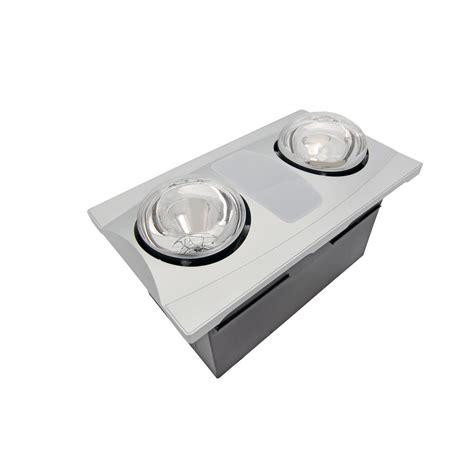 bathroom fan light 2 bulb 80 cfm ceiling bathroom exhaust fan with light and
