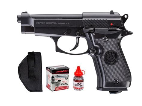 Beretta M84fs Co2 Bb Blowback Metal Pistol Kit. Air Guns