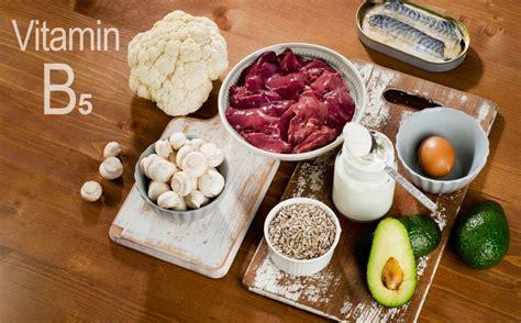 Vitamin B5 Lebensmittel - SportMix24