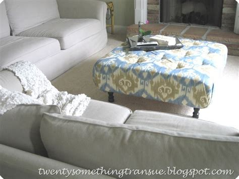 Make An Ottoman From A Coffee Table by How To Make An Ottoman From Scratch Craft Ideas