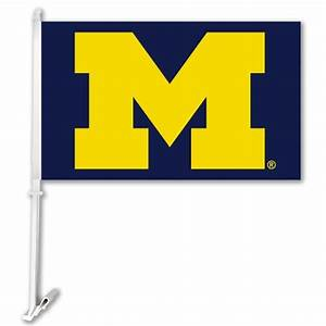 Michigan Wolverines NCAA Double Sided Car Flag (K97003 ...