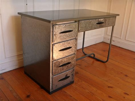steel bureau bureau atelier en metal vintage steel desk style and steel jpg tables bureaux les