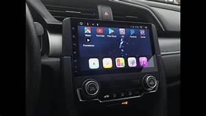 10th Gen Honda Civic Phoenix 9 U0026quot  Android Head Unit Review