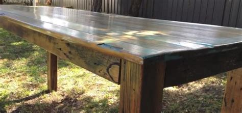 how to build a rustic table build rustic kitchen table best home decoration world class