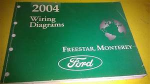 Ford Freestar Monterey 2004 Wiring Diagrams Diagrama De