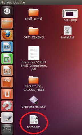 raccourci bureau ubuntu bien débuter ce cours créez des applications de qualité