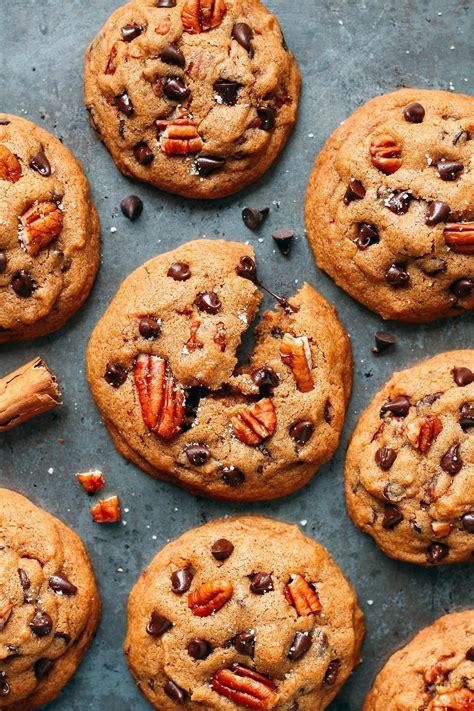 awesome pecan chocolate chip cookies vegan gf recipe