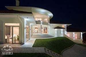 With house interior and exterior design