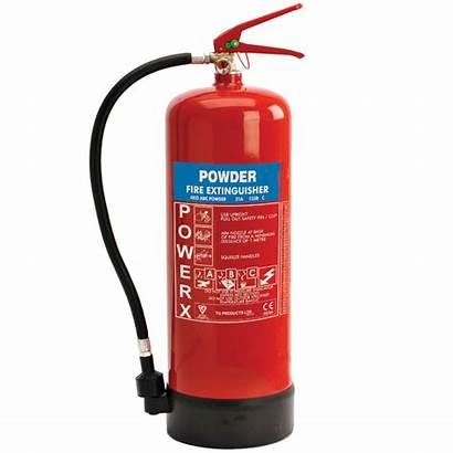 Extinguisher Powder Fire Dry 6kg Safety Range