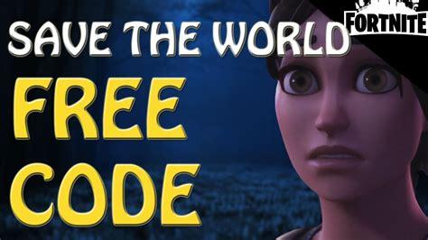 fortnite save  world  friend codegift card
