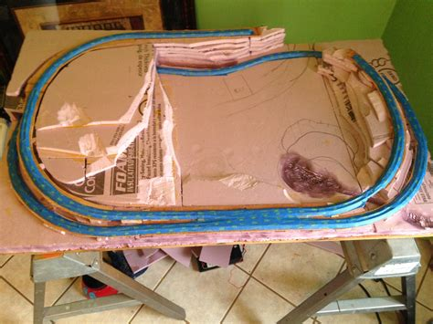 brians coffee table layout model railroad layouts