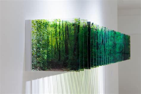 painting on plexiglass layer drawings nobuhiro nakanishi 中西信洋