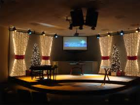 Image of: Packed Christma Church Stage Design Idea Many Concepts Used In Church Stage Design