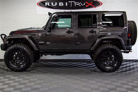 2017 Jeep Wrangler Rubicon Recon Unlimited Granite