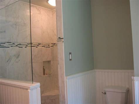 Beadboard Wainscoting Bathroom : How To Install Wainscoting Bathroom Raised
