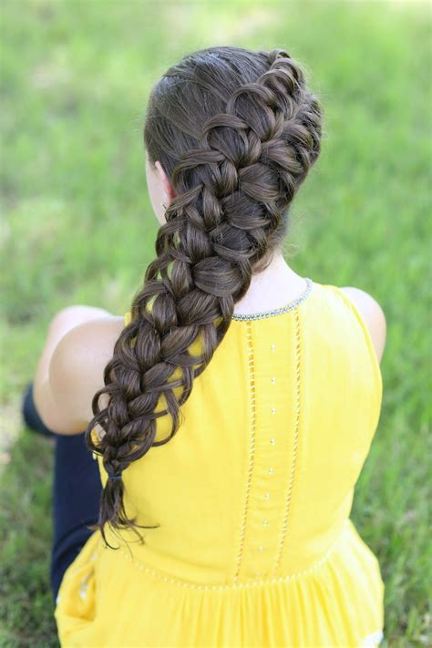 Cool Hairstyles With Braids by Diagonal Loop Braid Braid Hairstyles