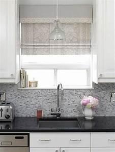 Vorhänge Für Küche : raffrollo f r k che eine praktische dekoration f r die fenster raffrollo k che ~ Watch28wear.com Haus und Dekorationen