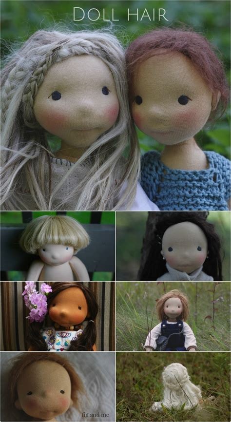 dollmaking tips    doll hair fig