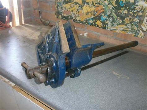 woden   bench vice ebay woodworking vice