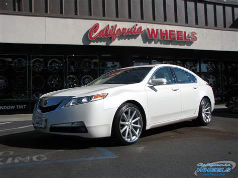 car acura tl  vossen cv wheels california wheels