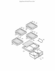 Parts For Lg Lmx25964st    02  Refrigerator Parts