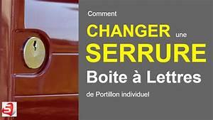 Serrure De Boite Aux Lettres : changer la serrure de boites a lettres individuelle youtube ~ Melissatoandfro.com Idées de Décoration
