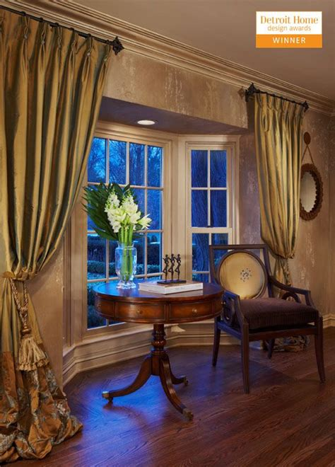 how to drape a bay window 17 best ideas about bay window curtains on bay