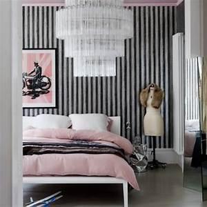 Decora tu habitación en rosa y gris