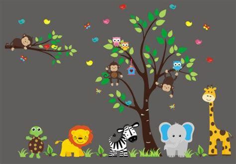 Babyzimmer Gestalten Dschungel by Babyzimmer Gestalten S 252 223 E Tier Muster F 252 R Ihre Kleinen