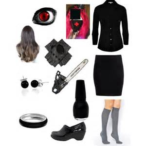 onyx earrings creepypasta polyvore